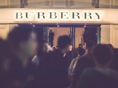 The custom-built Burberry event space in Shanghai last night - Executive Salad