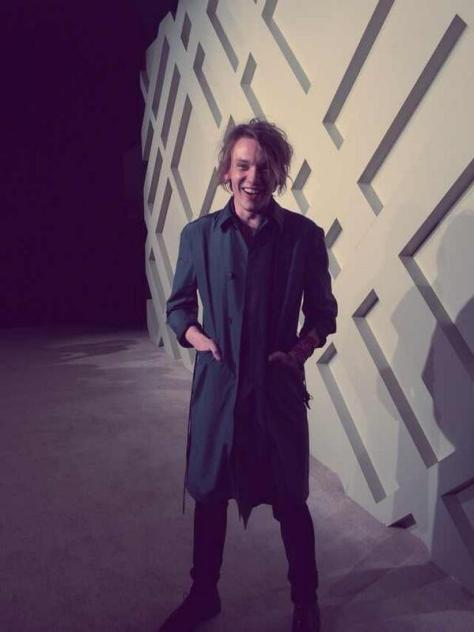 Campaign star Jamie Bower on the red carpet at the London in Shanghai Burberry event - Executive Salad
