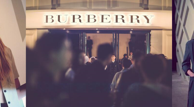 Burberry Celebrates London in Shanghai event - 2014 - Executive Salad
