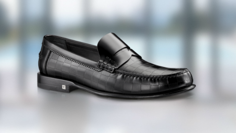 Louis Vuitton outline loafer in Damier embossed calf at $995 - Executive Salad