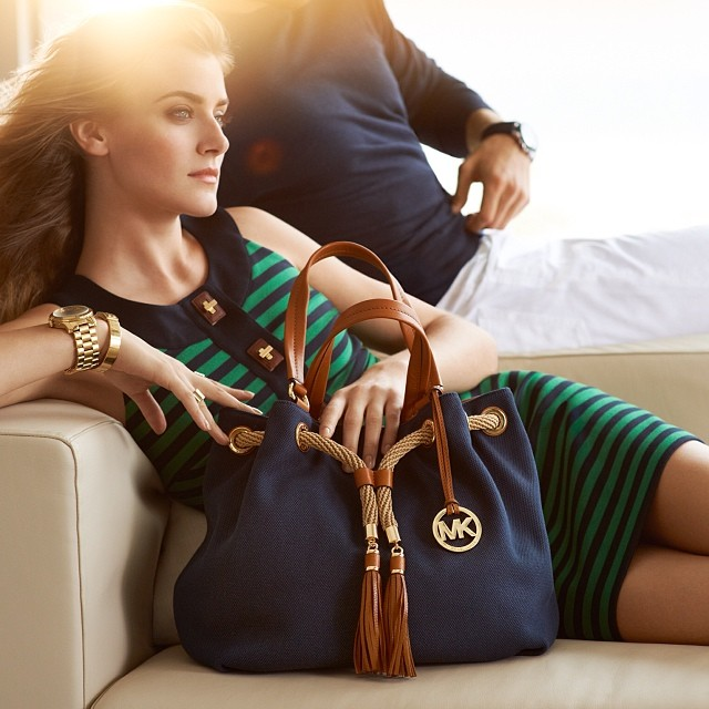 Love the Michael Kors Timeless Green