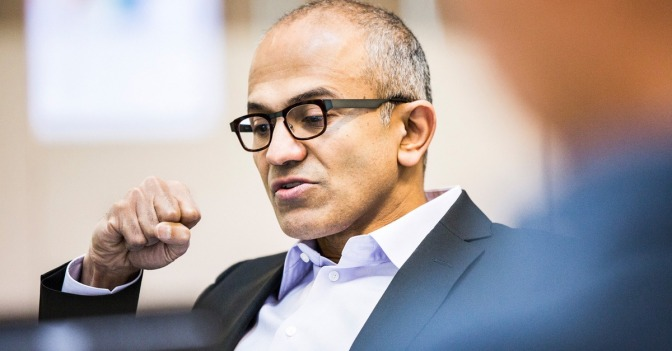 Satya Nadella, CEO of Microsoft - Executive Salad