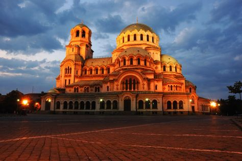 48 Hours In: Sofia - Alexandr Nevski Cathedral - Executive Salad