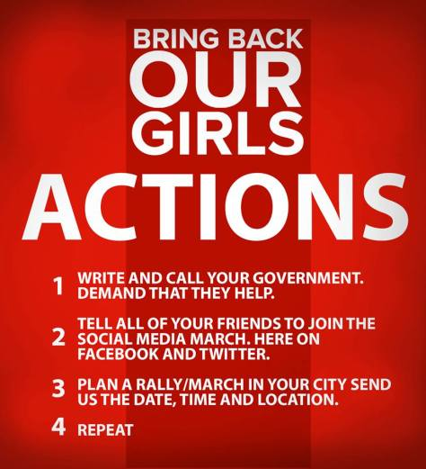 Bring Back Our Girls - Executive Salad