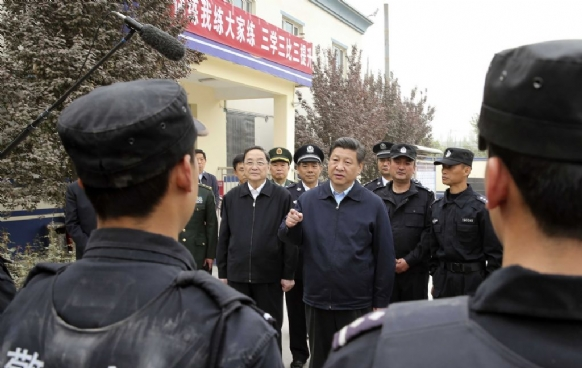"China's Xi orders ""crushing blow"" to terrorism - Executive Salad"