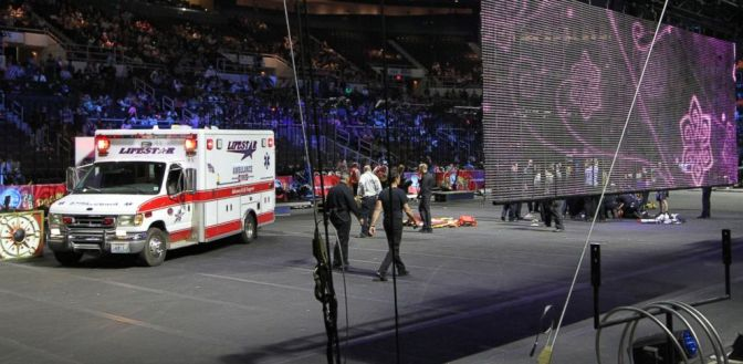 Circus Audience Initially Thought Accident Was Part of the Act - Executive Salad