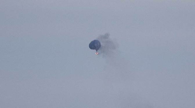 Hot Air Balloon Explosion Kills One, Two Missing