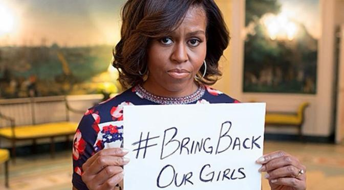Michelle Obama Joins #BringBackOurGirls Movement on Twitter - Executive Salad
