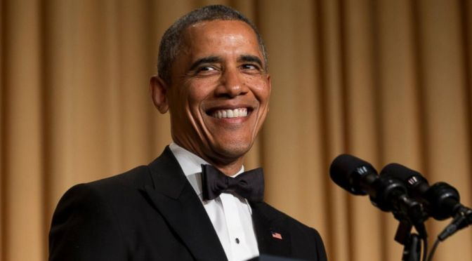 President Obama Ribs Press at Correspondents' Dinner - Executive Salad
