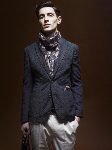 Roberto Cavalli SS14 - Men's Collection Elegance - Executive Salad