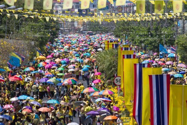 Thailand marking Coronation Day