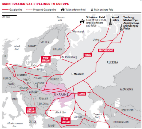 Ukraine crisis EXCLUSIVE: US and Europe planning to 'cut off' Russia's gas supply - Executive Salad