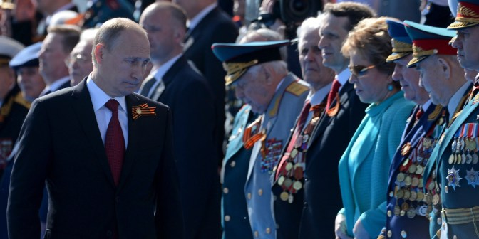 Ukraine crisis: Russian victory parade buoyed by Crimea