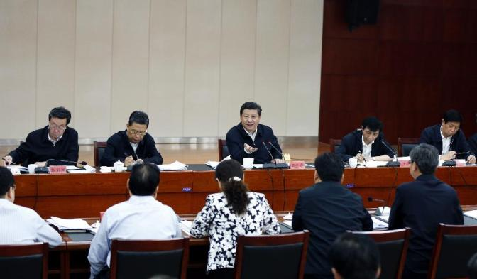 Xi urges continuing efforts to improve work style