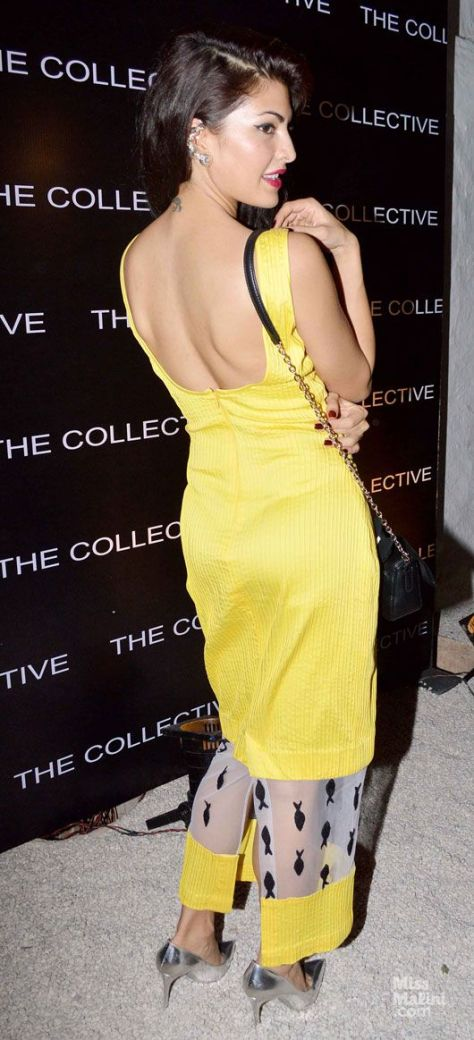Jacqueline Fernandez wearing Nikhil Thampi - Executive Salad