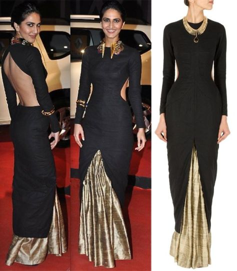 Vaani Kapoor wearing Nikhil Thampi - Executive Salad