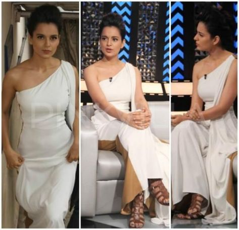 Kangana Ranaut wearing Nikhil Thampi - Executive Salad