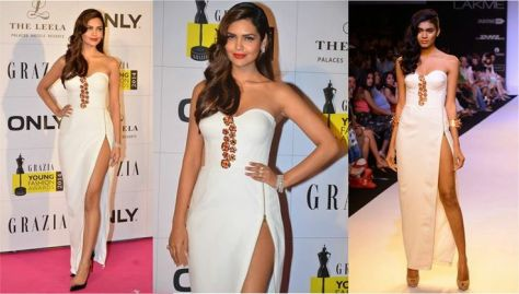Esha Gupta wearing Nikhil Thampi - Executive Salad