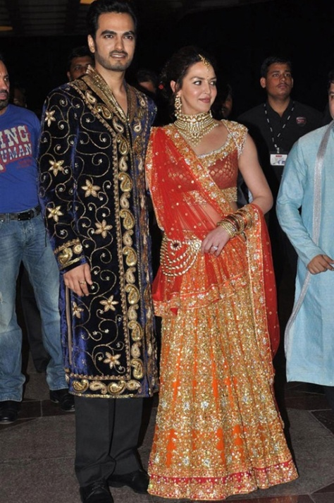 Esha Deol in Rocky S for her wedding - Executive Salad