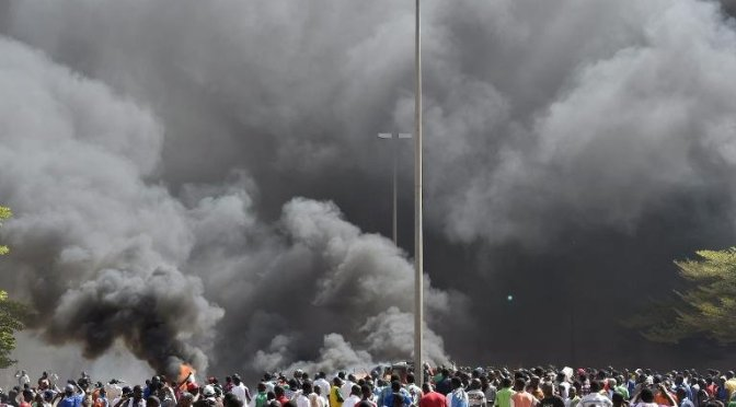 Burkina Faso Declares State Of Emergency After Protesters Storm Parliament