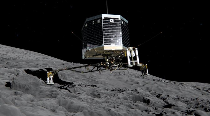Rosetta spacecraft: Europe makes space history as Philae probe lands on comet surface
