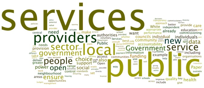 THE FUTURE OF PUBLIC SERVICES IN THE 21ST CENTURY - Executive Salad