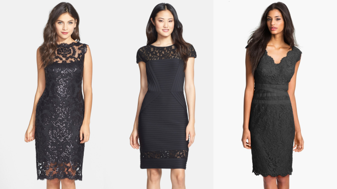 Treat yourself to the little black dress